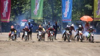 Finaliza campeonato nacional de motocross 2021