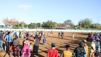 Inauguran campo de béisbol en Managua