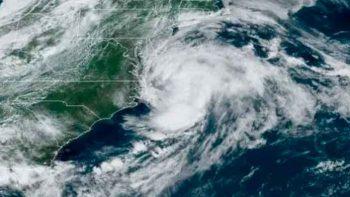 Tormenta Claudette se mueve veloz por aguas del Atlántico norte