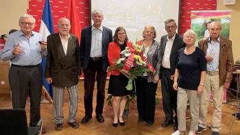 Nicaragua celebra el 42/19 en Berlín, Alemania