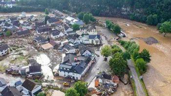 Inundaciones y fuertes lluvias dejan al menos 42 personas fallecidas en Alemania y Bélgica