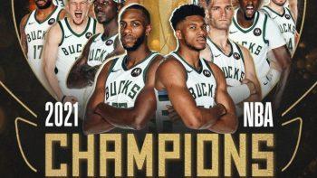 Bucks triunfan como campeones de la NBA