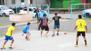 Inauguran Liga de Fútbol Masculino en Villa Guadalupe