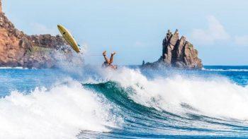 Olas desafiantes para surfistas del Torneo Centroamericano de Surf 2021