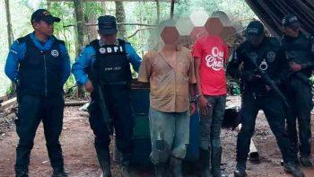 Narcolaboratorio es destruido en El paraíso, Honduras