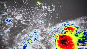 Onda tropical ingresará a Nicaragua este martes