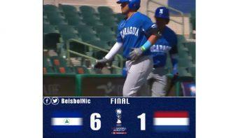 Nicaragua gana a Holanda en el Mundial U23