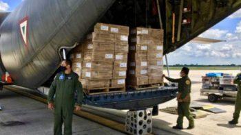 Díaz-Canel agradece ayuda humanitaria internacional