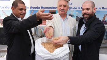 Nicaragua recibe donación de trigo de la Federación de Rusia