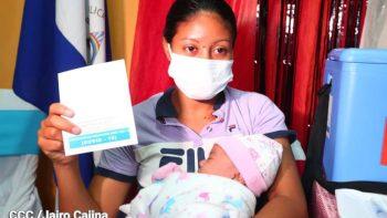 Avance de la vacunación voluntaria contra Covid-19 en Nicaragua