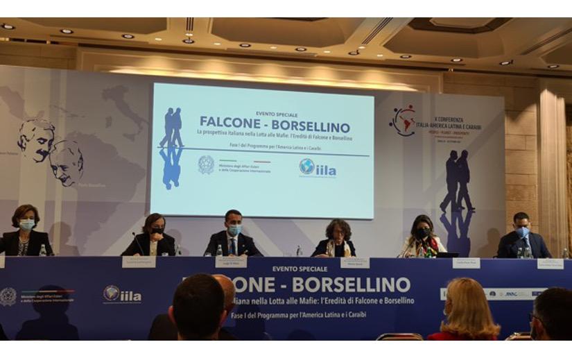 Presenta resultados del programa Falcone–Borsellino