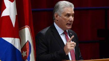 Presidente Díaz-Canel rechaza intervención imperialista en política interna