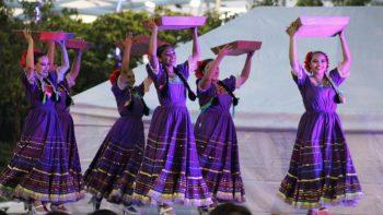 Realizan XIV Encuentro Regional de Danzas Folclóricas