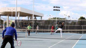 Finaliza torneo de tenis en los Juegos Juveniles 2021